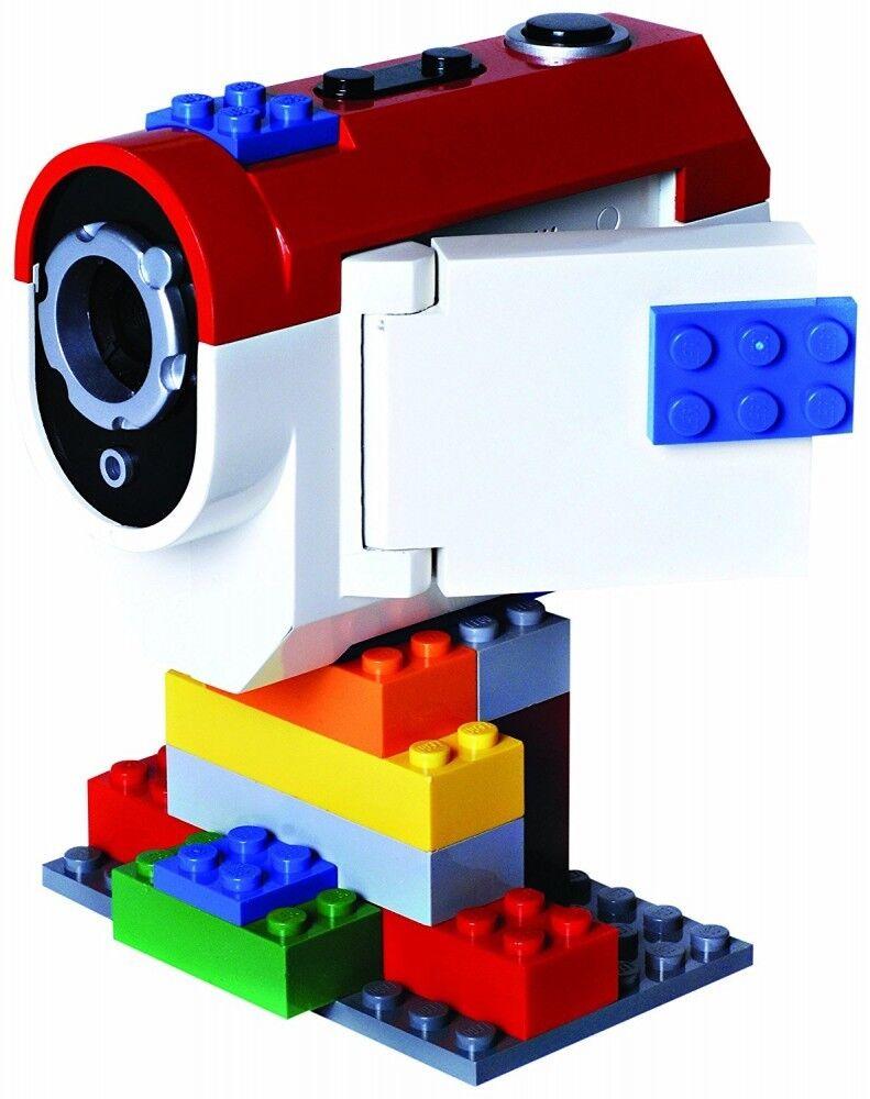 NYA Digital blå LEGO -videokamera LG10003 SD -kort Inbyggd mikrofon