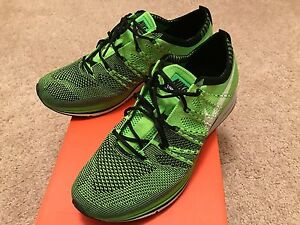 faddd1c81d27 2012 OG Nike Flyknit Trainer in Mens sz 8.5 Electric Green sneaker ...