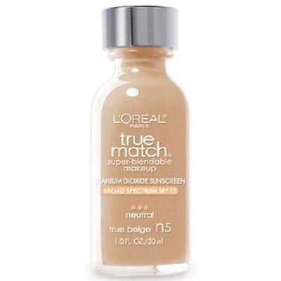 X3 LOREAL True Match Super Blendable Makeup liquid Foundation SPF17 *You Choose*