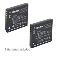 2x Kastar Battery For Panasonic Lumix Dmw-bck7 Dmc-fp5 Dmc-fp7 Dmc-fs16 Dmc-fs18