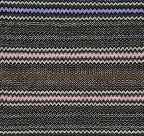 MISSONI Wool Blend Zig Zag Scarf Multicoloured £175