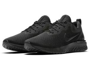 96615ff4e5efd NEW Sz 7 Men s Nike Odyssey React Running Shoe Triple Black AO9819 ...