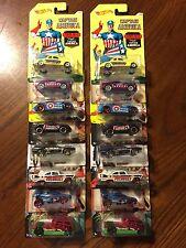 2 SETS! Hot Wheels CAPTAIN AMERICA Set of 8 Walmart Exclusive Civil War Avengers