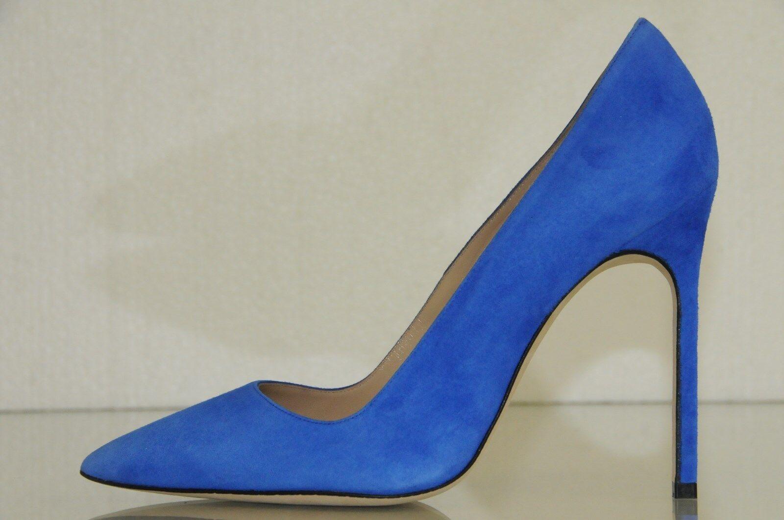 New Manolo Blahnik BB BB BB 115 Cobalt bluee Suede shoes Heels Pumps 35 39 40.5 Wedding 3ae0f7