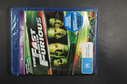 1 of 1 - The Fast And The Furious (Blu-ray, 2009) New, ExRetail Stok (D141)