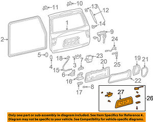 Toyota Oem 0104 Sequoia Liftgate Tailgate Hatchpocket Assembly. Is Loading Toyotaoem0104sequoialiftgatetailgatehatch. Toyota. 2004 Toyota Sequoia Back Hatch Diagram At Scoala.co