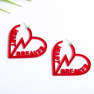 Fashion-Women-Drop-Dangle-Stud-Earring-Acrylic-Resin-Heart-Earrings-Jewelry-Gift