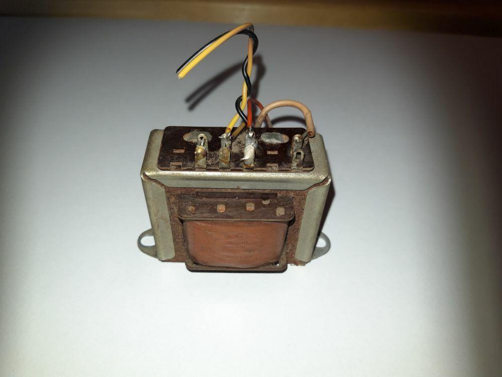 Bild 1 - bertrager  Trafo Tr943 aus Nordmende Fidelio 56 3D - Rhrenradio Ersatzteil