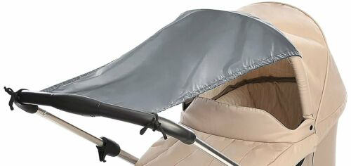 reer Sonnensegel universal für Kinderwagen Buggy Sonnenschutz 8411.8 Grau