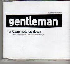 (DF662) Gentleman, Caan Hold Us Down - 2006 DJ CD
