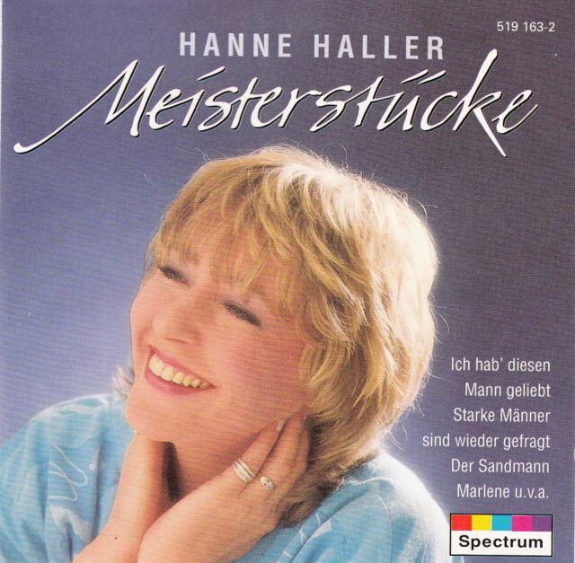 HANNE HALLER : MEISTERSTÜCKE / CD