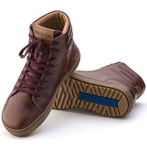 Birkenstock Bartlett High LEDER Sneaker 42 schmal cherry Schuhe 1000977 NEU