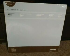 CREATIVE-MEMORIES-12x12-WHITE-ALBUM-PAGES-BNIP-Refill-Scrapbook