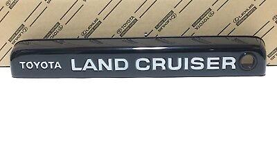 REAR LICENSE PLATE TAG HOLDER MOUNT BUMPER KIT BRACKET for TOYOTA LAND CRUISER