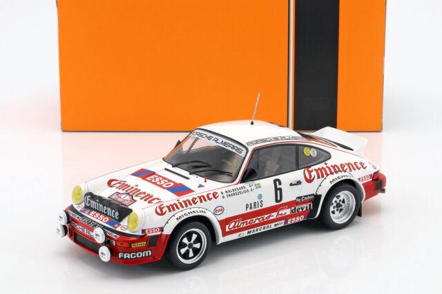 Porsche 911 SC  RALLYE MONTE CARLO 1982 WALDEGARD 1/18  ixo