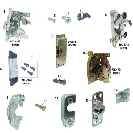 Left Hand Striker for Early Mack R//RB//RD//DM PAI# FKD-4692 Ref# 25621717 31RC310B