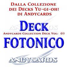 Yu-Gi-Oh! Mazzo DRAGO FOTONICO OCCHI GALATTICI Completo Andycards Deck Vol: 03