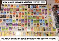LOTTO 100 CARTE POKEMON NUOVE - TUTTE DIVERSE - IDEA REGALO + OMAGGIO NO ENERGIE