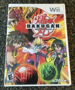 Nintendo-Wii-Bakugan-Battle-Brawlers-Game-Complete-w-Manual-Clean-amp-Tested