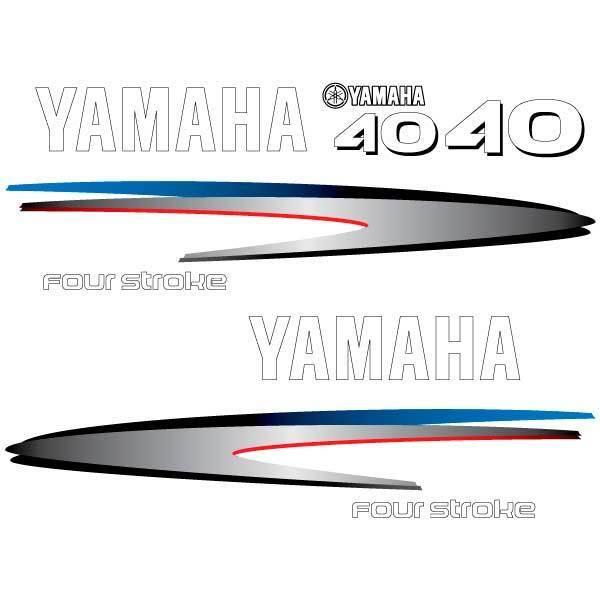 Yamaha 40 50 60 75 80 90 100 115 130 150 Außenborder Aufkleber