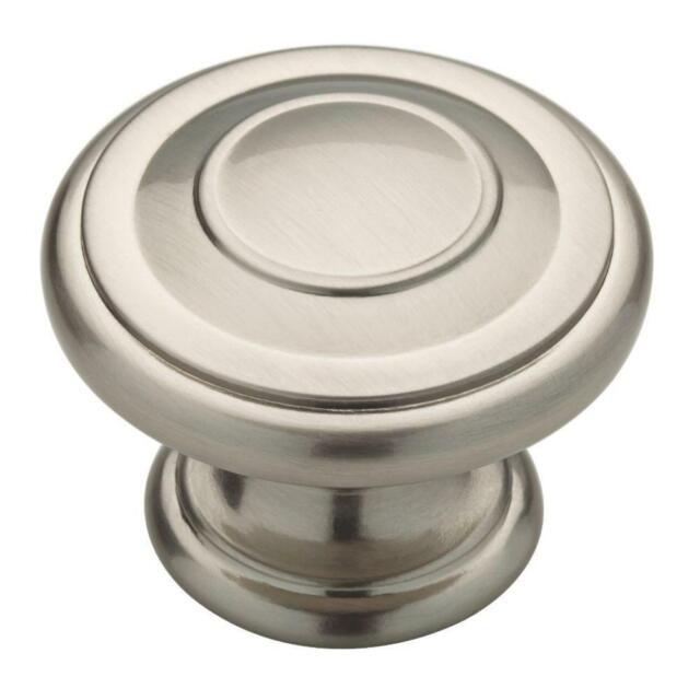 Brainerd 1-1//2375-in Satin Nickel Round Cabinet Knob  P17887V-SN-C