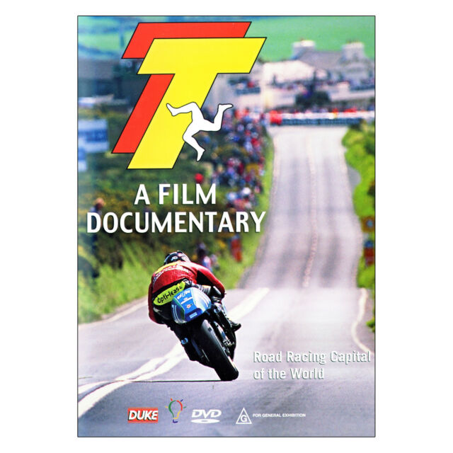 TT - A Film Documentary DVD Brand New Region 4 Aust.