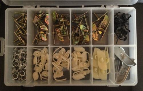 AMC 130x Door Body Side Moulding Fasteners Exterior Trim Clips Kit NOS