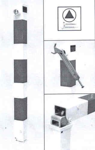 Dreikantschlüssel-Feuerwehrschlüssel-Notdienst-Polizeischlüssel-DRK-THW  2er SET