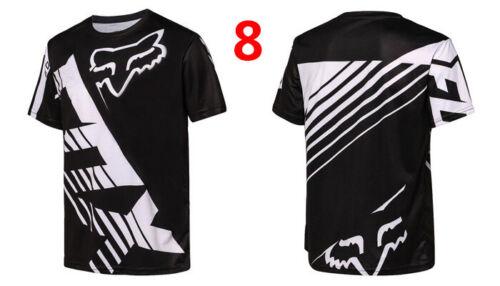 Fox Racing Jersey T-Shirt Men/'s Motocross//MX//ATV//BMX//MTB Cycling Bike Tops US
