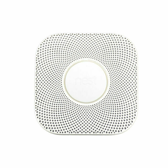 Nest Protect Smoke and Carbon Monoxide Alarm 2nd Gen  Batter