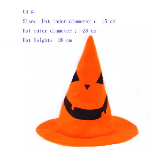 Kids Adult Halloween Pumpkin Hat Fancy Dress Party Cap Party Decor Costume