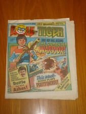 EAGLE AND TIGER #168 8TH JUN 1985 BRITISH WEEKLY WITH FREE GIFT
