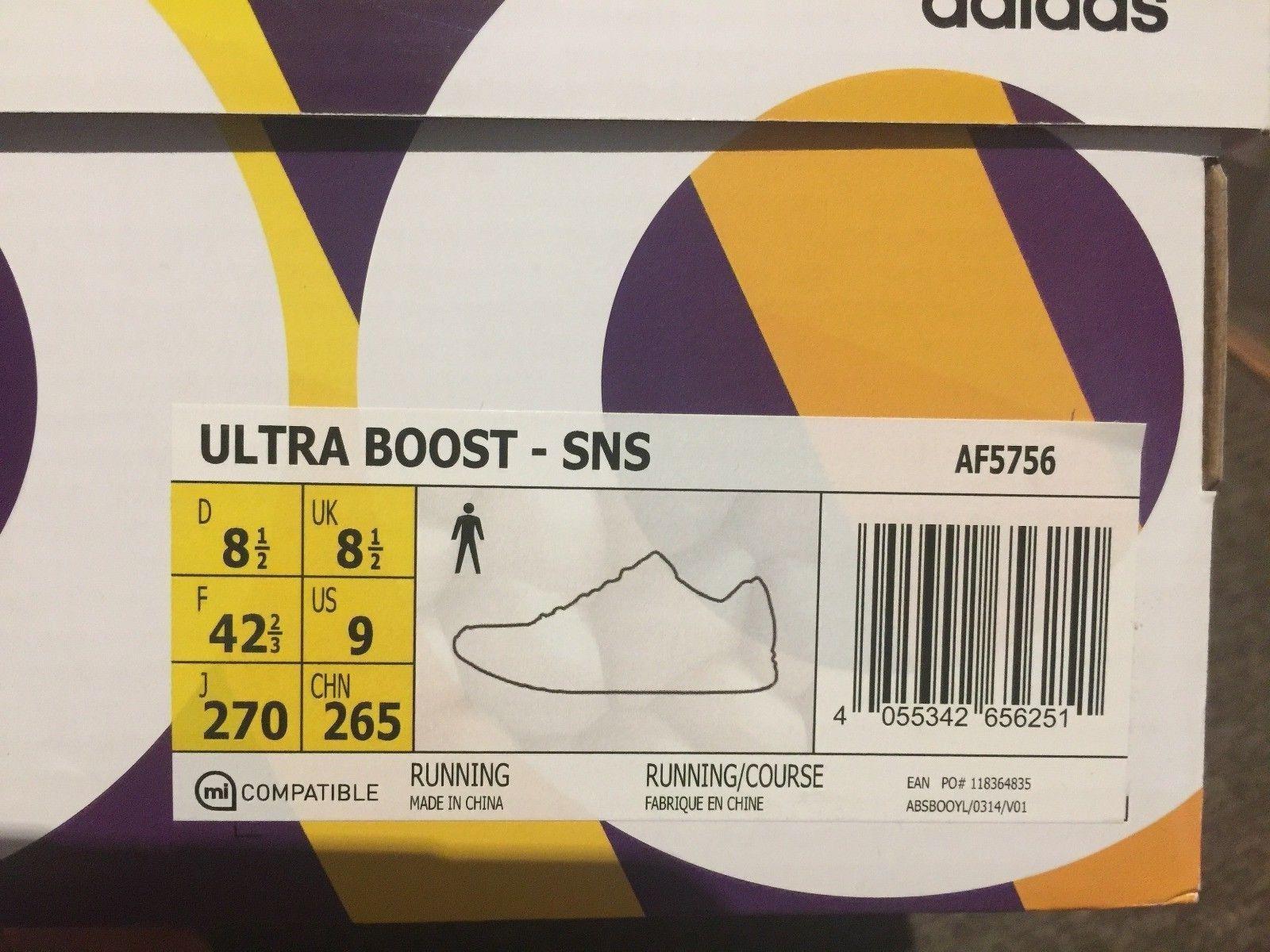Sns x adidas ultra impulso tee time us9 in in in vendita  nuovo sergente. | Acquisti  40c5f4