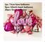 30pcs Love Heart Foil Balloon Valentines Day Engagement Party Decor Set Kit