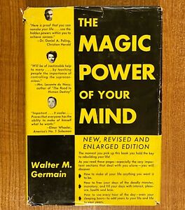 THE-MAGIC-POWER-OF-YOUR-MIND-Revised-and-Enlarged-by-Walter-M-Germain-HC-DJ