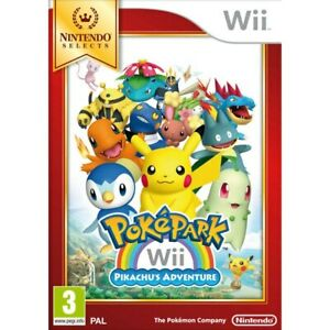 PokePark-Pikachu-039-s-Adventure-For-PAL-Wii-New-amp-Sealed