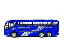 1:48 Ultimate Passenger Tourist Vacation Electric RC Bus RTR Blue TPB10A