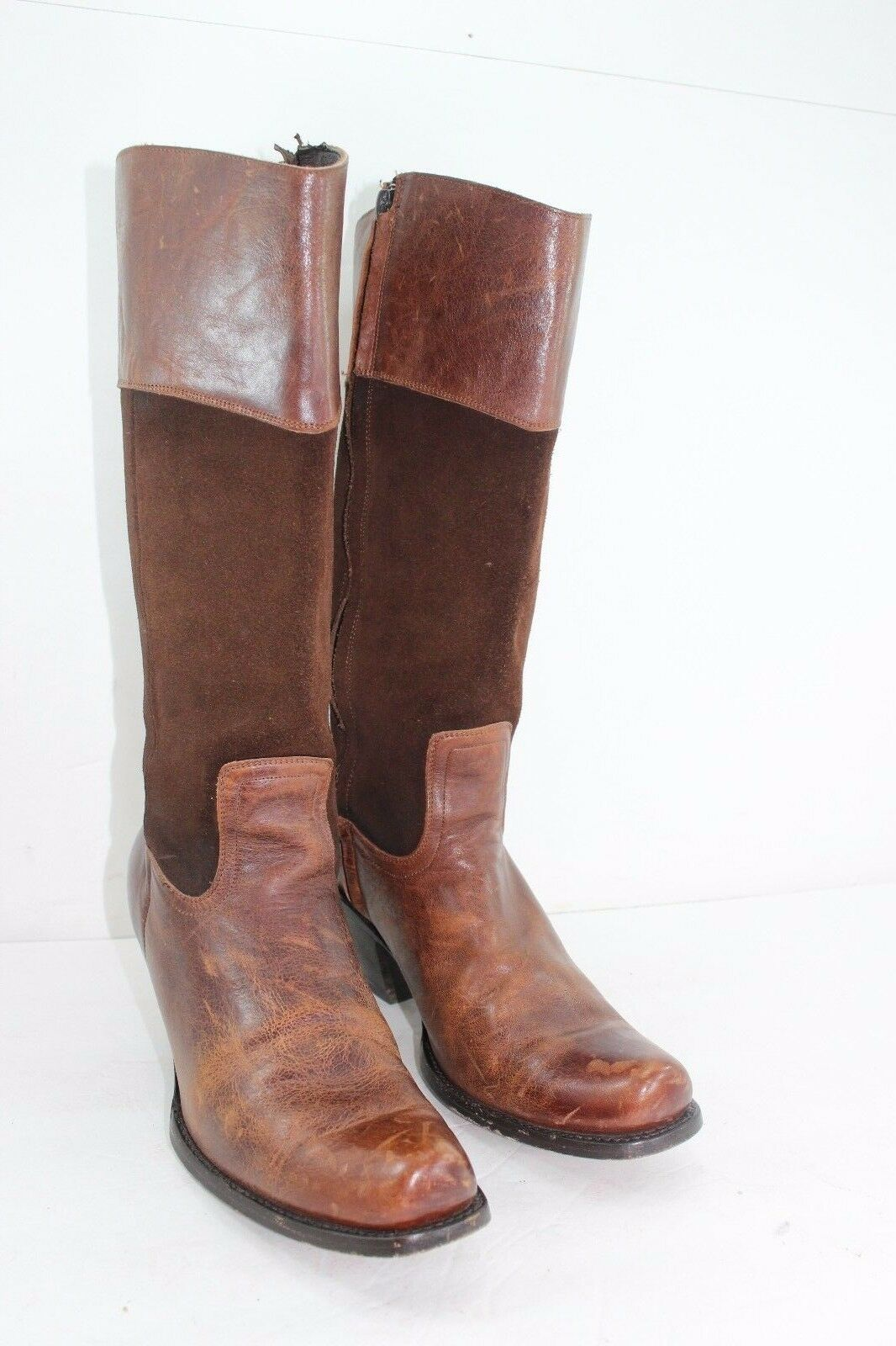 DOUBLE HH SONARA WOMENS BOOTS SIZE 9 M BROWNS IN GREAT CONDITION