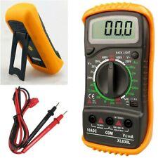 Digital Lcd Multimeter Meter Acdc Voltage Tester Voltmeter Backlighttest Leads