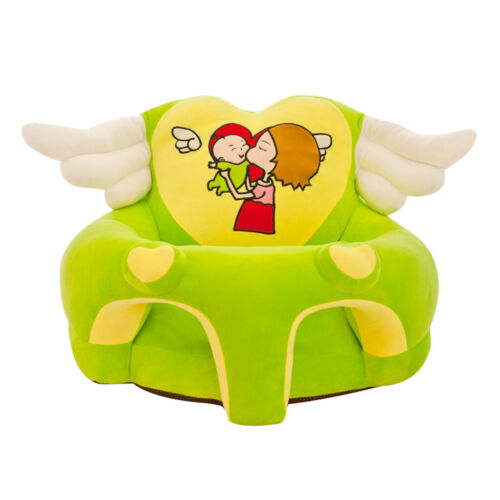 Soft Seats Sofa Cover No Filling Baby Toddler Lovely Angle Wings Chair Case
