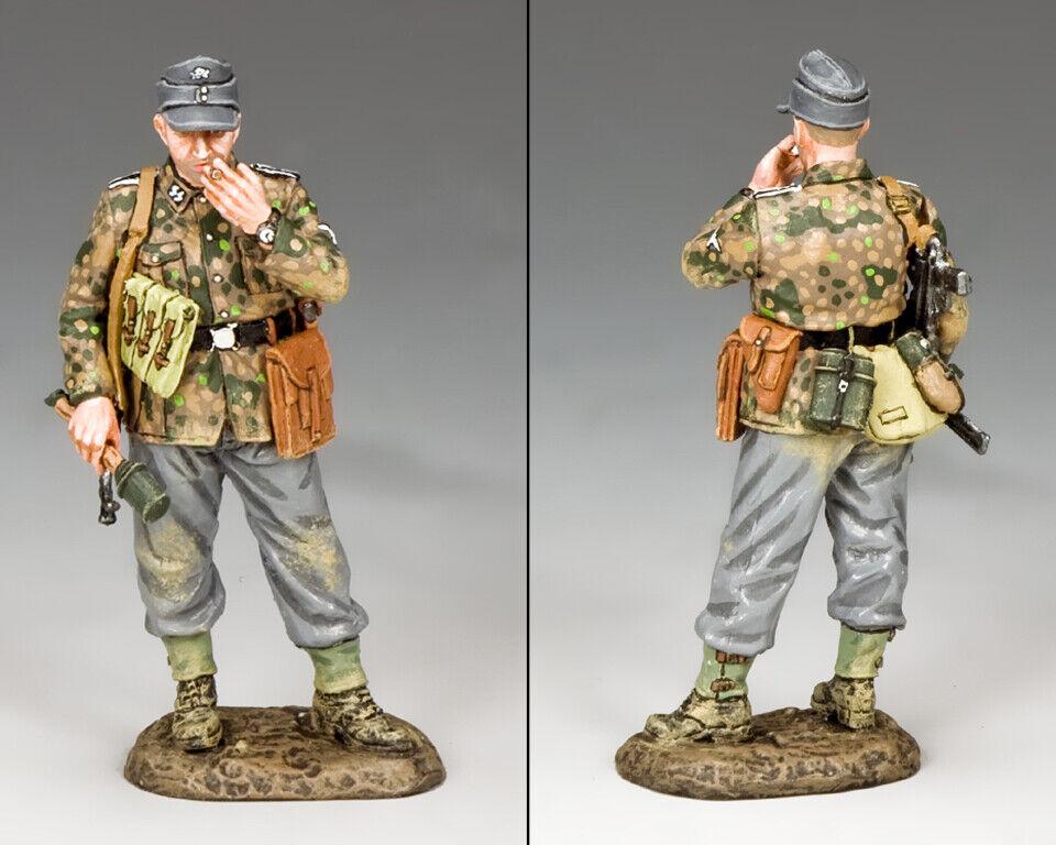 King & Country WW2 Deutsche Armee WS326 Rauch Pause MIB