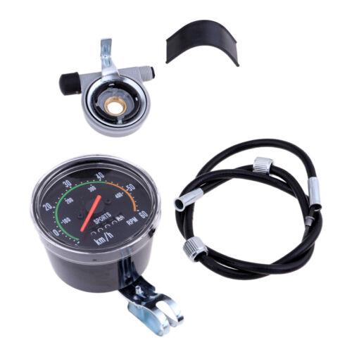 Waterproof Speedometer Odometer for Mountain Bike Indoor//Outdoor Exerciser