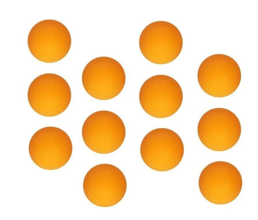 12 orange Tennis de Table Ping Jouet Pong Balle Jouet Ping lot jeu Sports Party Bingo pet 31c968