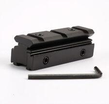 11mm Dovetail 20mm Weaver Gun Scope Rail Converter Adapter for Airgun and Rifle