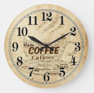 Coffee Orologio da parete