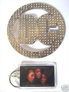 DESTINY-039-S-CHILD-BEYONCE-DC-BLING-BELT-BUCKLE-SET-NEW