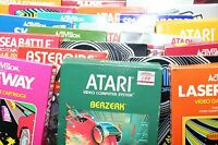 Atari 2600 Games with Boxes - Buy the ones you want!!!