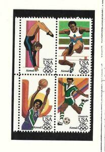 Estados Unidos Juegos Olimpicos Los Angeles Serie año 1983 (FS-999)