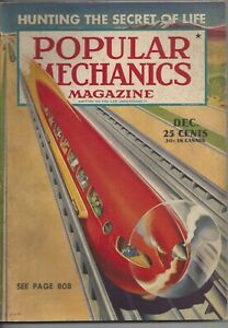 Magazine Popular Mechanics December 1940 Synthetic Rubber Short Wave Radio