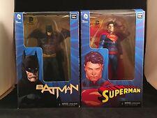 "DC Comics Collectible Batman & Superman Extreme Heroclix 7"" Action Figures HTF"